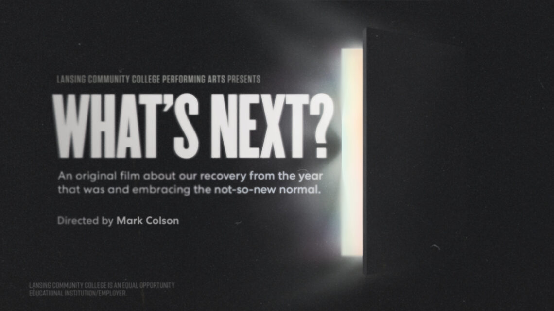 Program for What's Next a play by the LCC Performing Arts Program