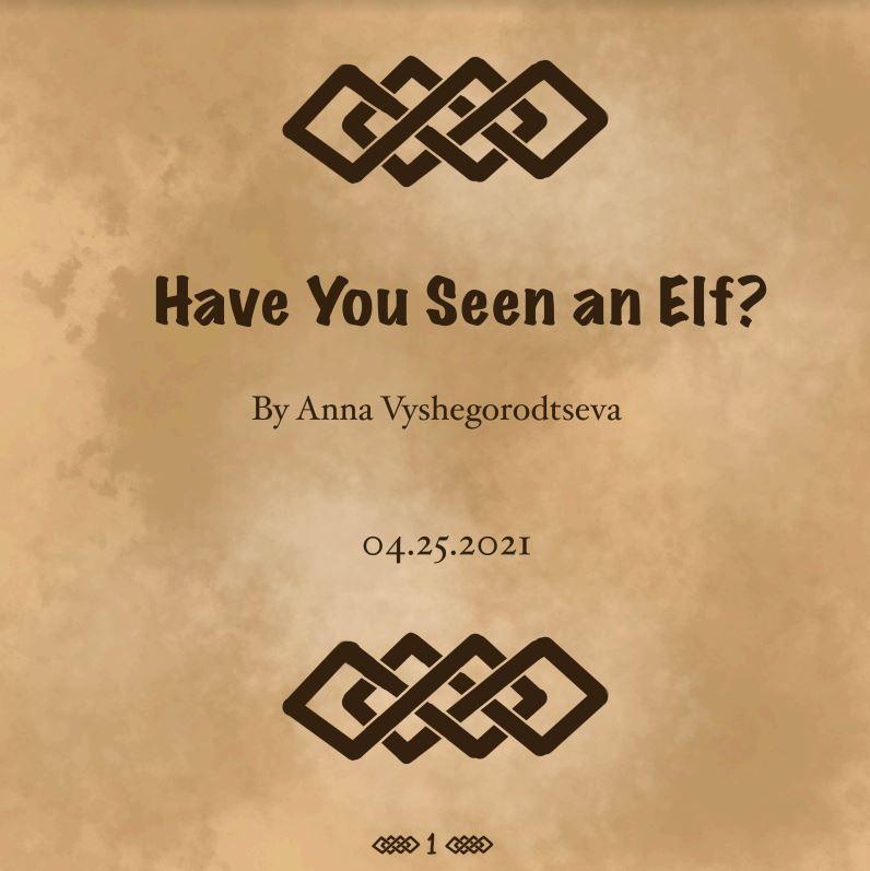Presentation by Anna Vyshegorodtseva